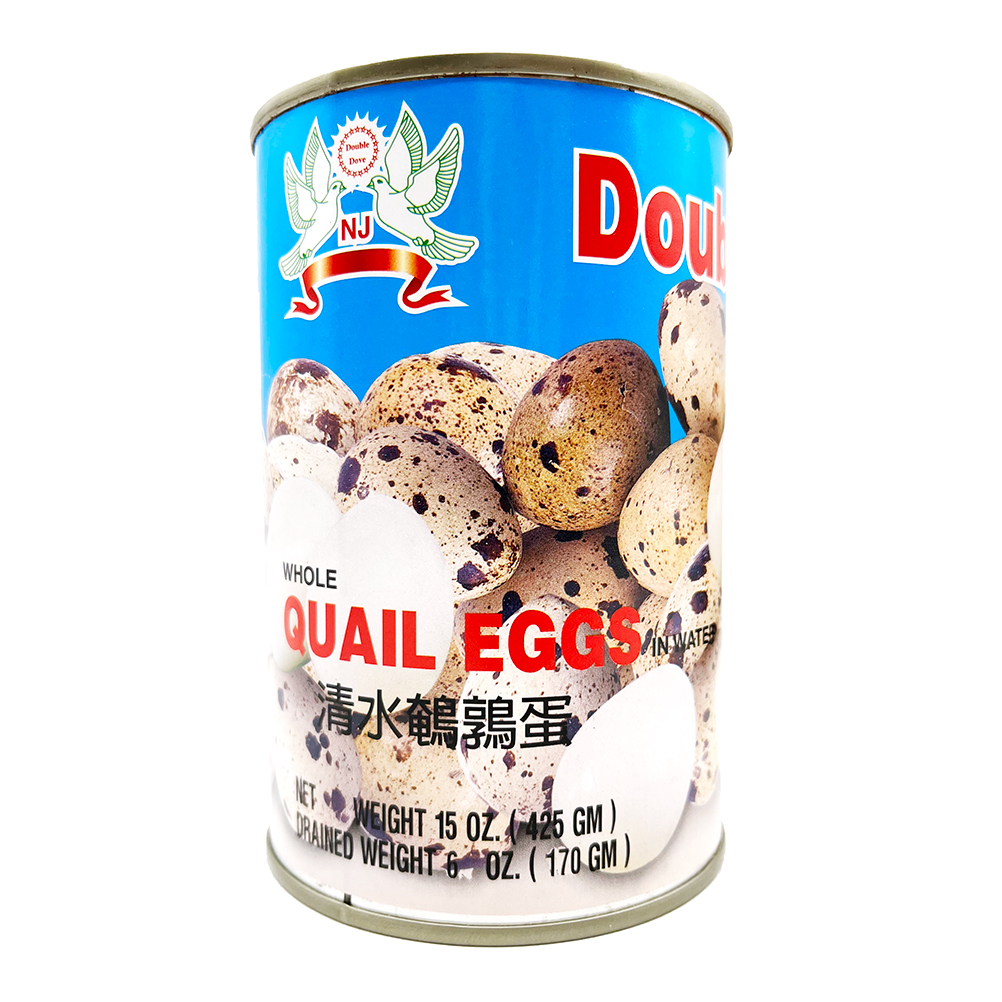 Double Dove  Whole Quail Egg In Can 15 Oz