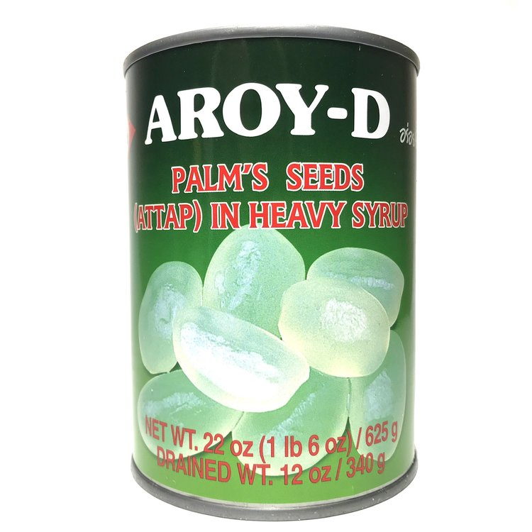 large aroy d palms seeds attap in heavy syrup 22 oz UeaoQwyt5