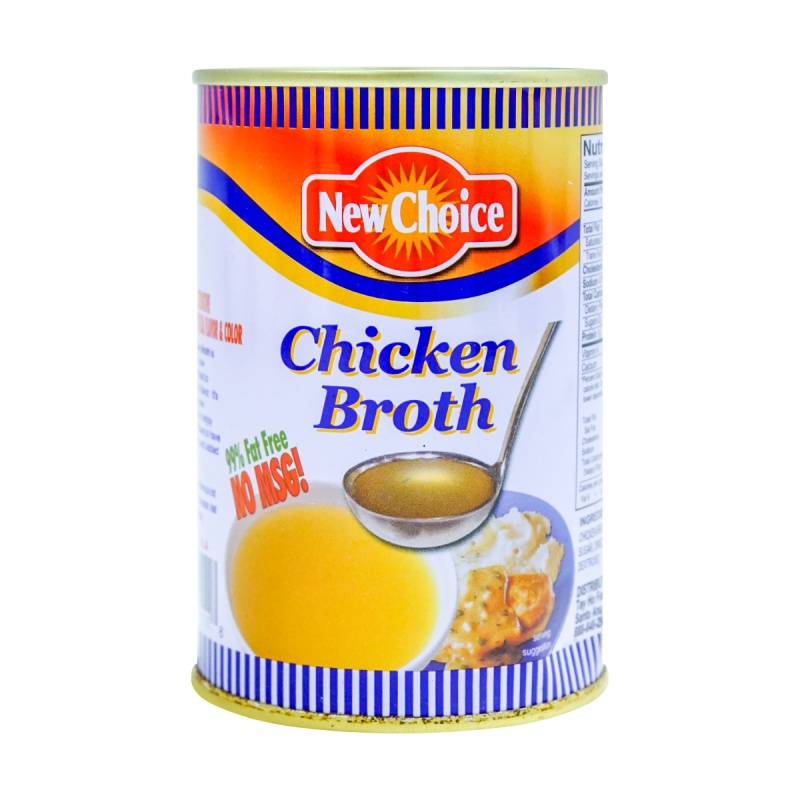 large new choice chicken broth no msg 14