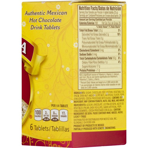large nestle authentic mexican hot chocolate drink tablets 19 oz LwMf3V KuT