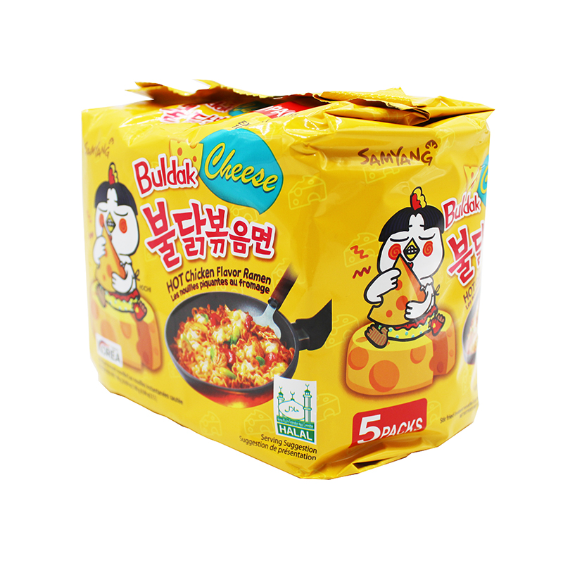 large samyang cheese hot chicken flavor ramen 5 pack 9cI4ljRoHf