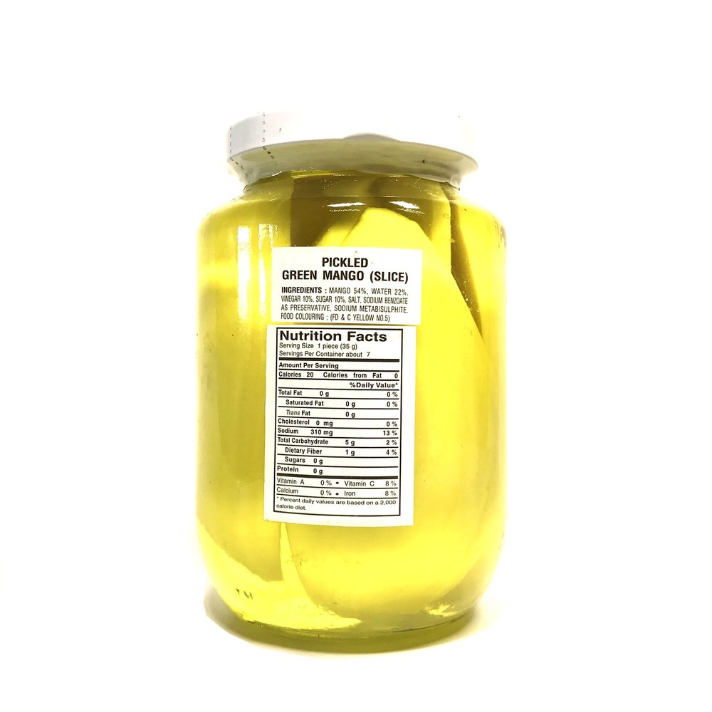 small cock pickled green mango slice 16 oz H hpAivOLP 2