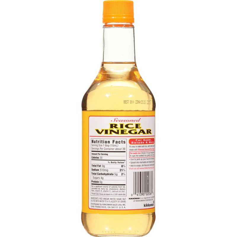 small kikkoman seasoned rice vinegar 20 fl oz I5vUXsbLWG 2
